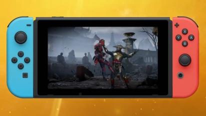 Mortal Kombat 11 - Nintendo Switchin pelikuvaa