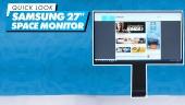 Nopea katsaus - Samsung Space Monitor 27