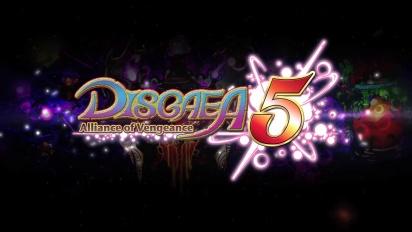 Disgaea 5: Alliance of Vengeance - Virallinen temaattinen traileri