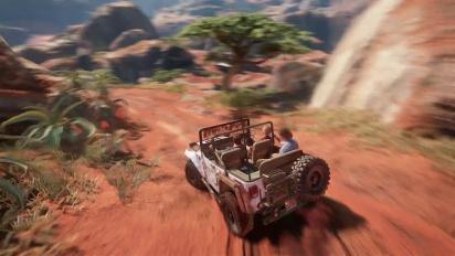 Uncharted 4: A Thief's End - Madagascar-pelikuvaa