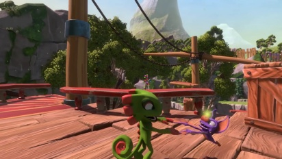 Yooka-Laylee - Nintendo Switch -traileri