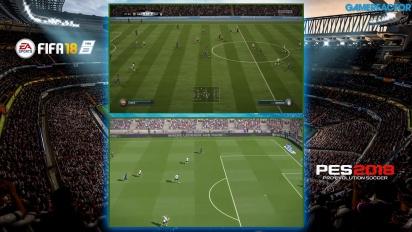 FIFA 18 ja PES 2018 vertailussa