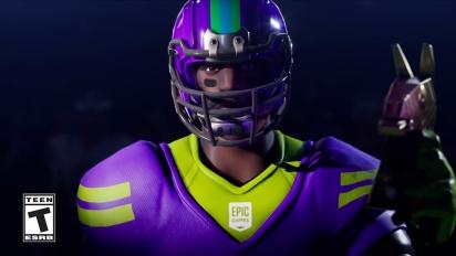 Fortnite - Fortnite X NFL Traileri