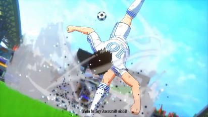 Captain Tsubasa: Rise of New Champions - Story Mode Traileri