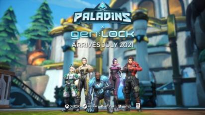 Paladins x gen:LOCK - Event Pass -traileri
