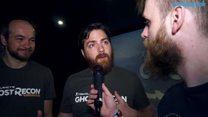 Ghost Recon: Wildlands - Tuottajan ja pääsuunnittelijan haastattelu