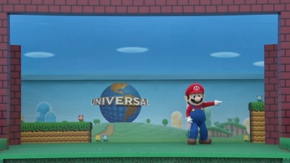 Super Nintendo World - Groundbreaking Ceremony -traileri