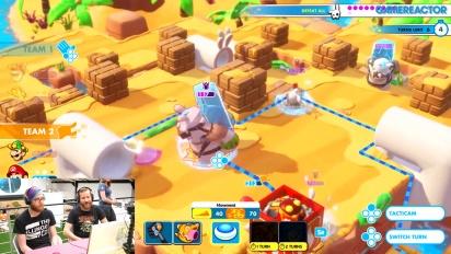 Mario + Rabbids Kingdom Battle - Co-op-pelikuvaa