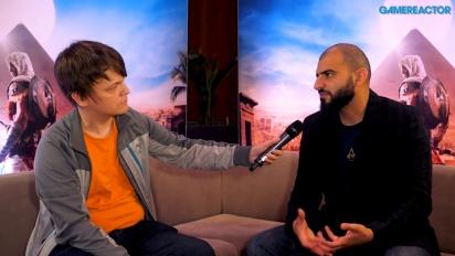 Assassin's Creed Origins - Ashraf Ismail haastattelussa