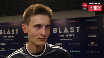 Blast Pro Series Copenhagen - Valde haastatelussa