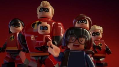 Lego The Incredibles - virallinen julkistustraileri