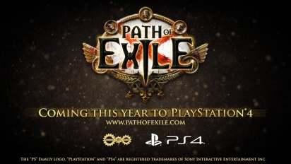 Path of Exile - PlayStation 4 julkaisutraileri