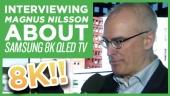 CES19: Samsung 8K QLED TV - Magnus Nilsson haastattelussa