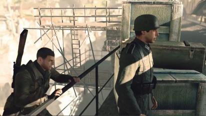 Sniper Elite 4 - Nintendo Switch Gameplay-traileri