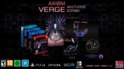Axiom Verge: Multiverse Edition - Nintendo Switch -ilmoitustraileri