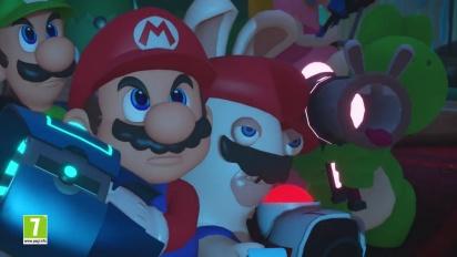 Mario + Rabbids Kingdom Battle - ennakkotraileri