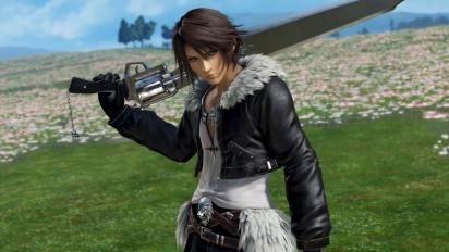 Dissidia Final Fantasy NT - Squall Leonhart -traileri