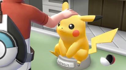 Pokémon: Let's Go Pikachu!/Let's Go Eevee! - paljastustraileri