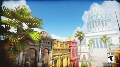 Overwatch - Escort Map Havana -traileri