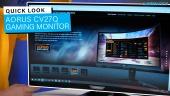 Nopea katsaus - AORUS CV27Q Gaming Monitor