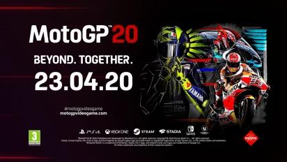 MotoGP 20 - julkistustraileri