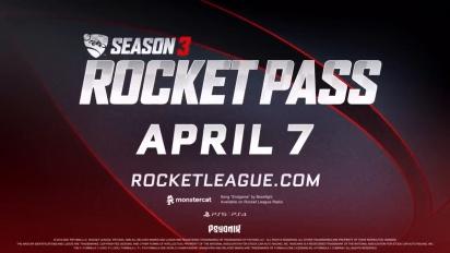 Rocket League - Season 3 Rocket Pass -traileri (PS5, PS4)