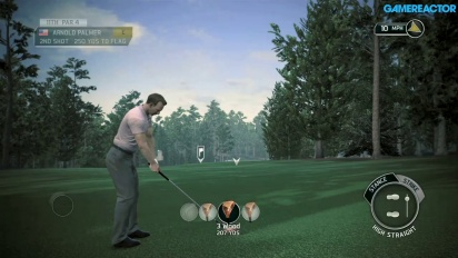 Tiger Woods PGA Tour 14 - Gameplay Legends of the Majors Arnold Palmer