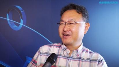 Shuhei Yoshida - haastattelu E3-messuilla