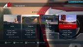 Assetto Corsa - PS4 Alpha -pelikuvaa (Pelivalikot)