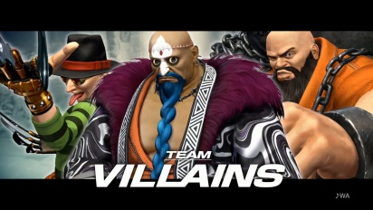 The King of Fighters XIV - Team Villians Trailer
