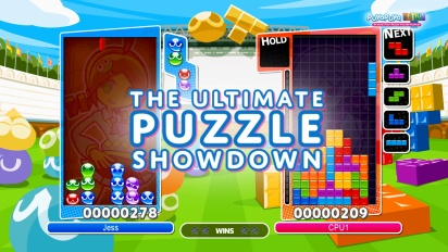 Puyo Puyo Tetris - pätkä