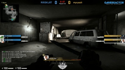 Steelseries League 2v2 - Group 52 - RÄISKIJÄT vs myryssit on Short Dust