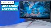 Nopea katsaus - AOC Agon AG272FCX6