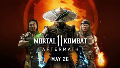 Mortal Kombat 11 - Aftermath Official Reveal Traileri