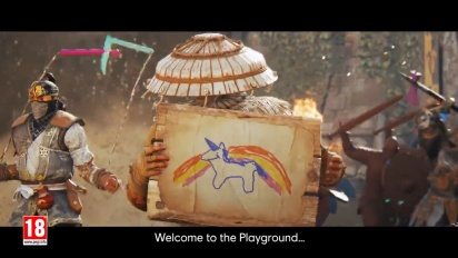 For Honor - April's Fool Playground Edition -traileri