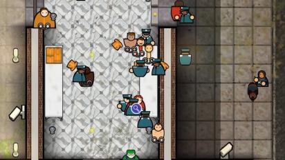 Prison Architect -konsolipaljastustraileri
