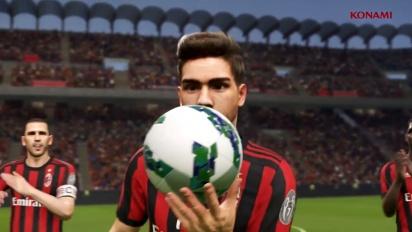 Pro Evolution Soccer 2018 - PES 2018 AC Milan -yhteistyötraileri