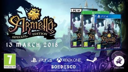 Armello - julkistuspelikuvaa PS4:lle (fyysinen versio)