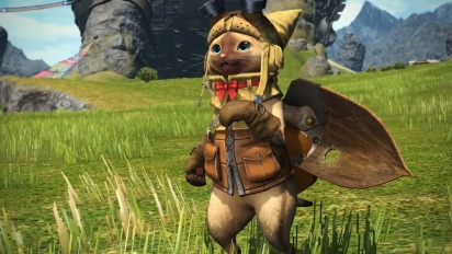 Final Fantasy XIV - Monster Hunter: World Collaboration -traileri