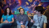 Hearthstone: Rastakhan's Rumble - Seyil Yoon ja Liv Breeden haastattelussa