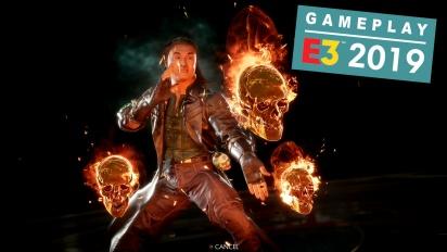 Mortal Kombat 11 - E3 Shang Tsung DLC -pelikuvaa