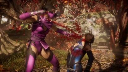 Mortal Kombat 11 Ultimate - virallinen Mileena Gameplay-traileri