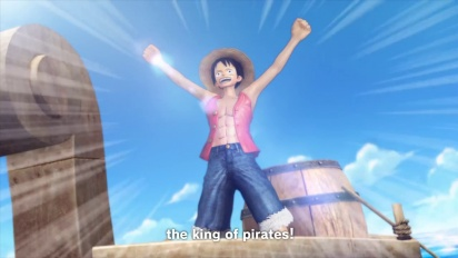 One Piece: Pirate Warriors 3 - Setting sail on PS4 - Trailer