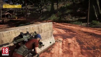 Ghost Recon: Wildlands - yksinpelin kuvaa