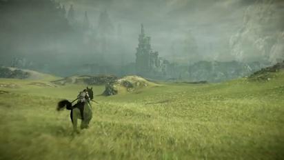 Shadow of the Colossus -julkaisutraileri