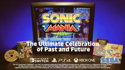 Sonic Mania Plus - mainos