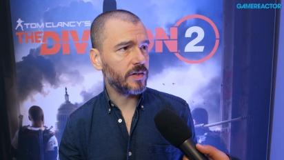 The Division 2 - Julian Gerighty haastattelussa