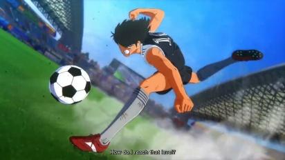 Captain Tsubasa: Rise of New Champions - hahmotraileri