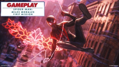 Spider-Man: Miles Morales - Gameplay First Mission - with ray-tracing enabled