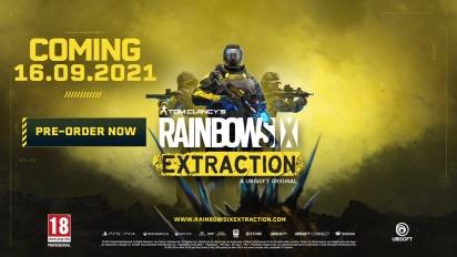Rainbow Six: Extraction - julkistustraileri